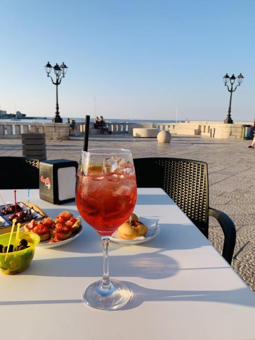 Aperitivo in Otranto