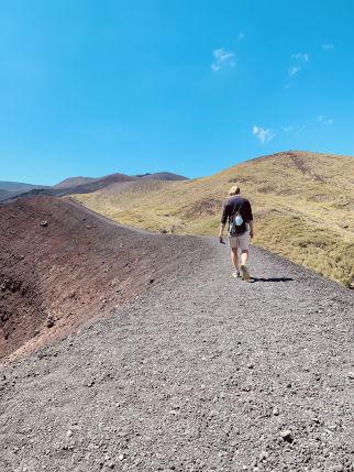 Aufstieg Etna