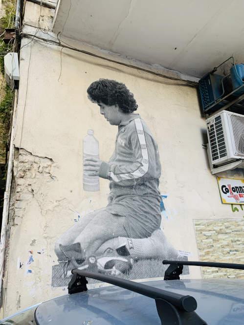 Maradona - In Neapel immer noch geliebt