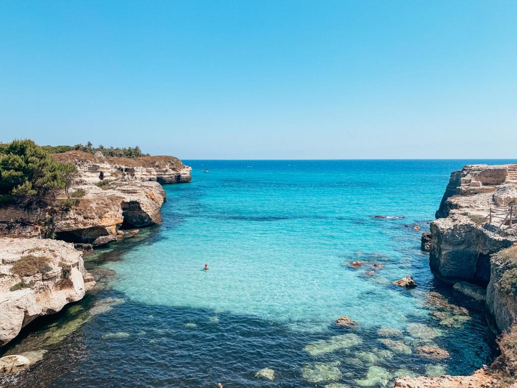 Blaues Meer Apulien