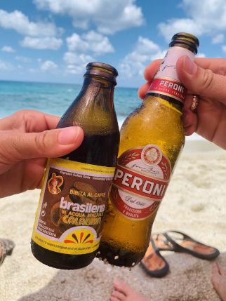 Brasilena und Bier