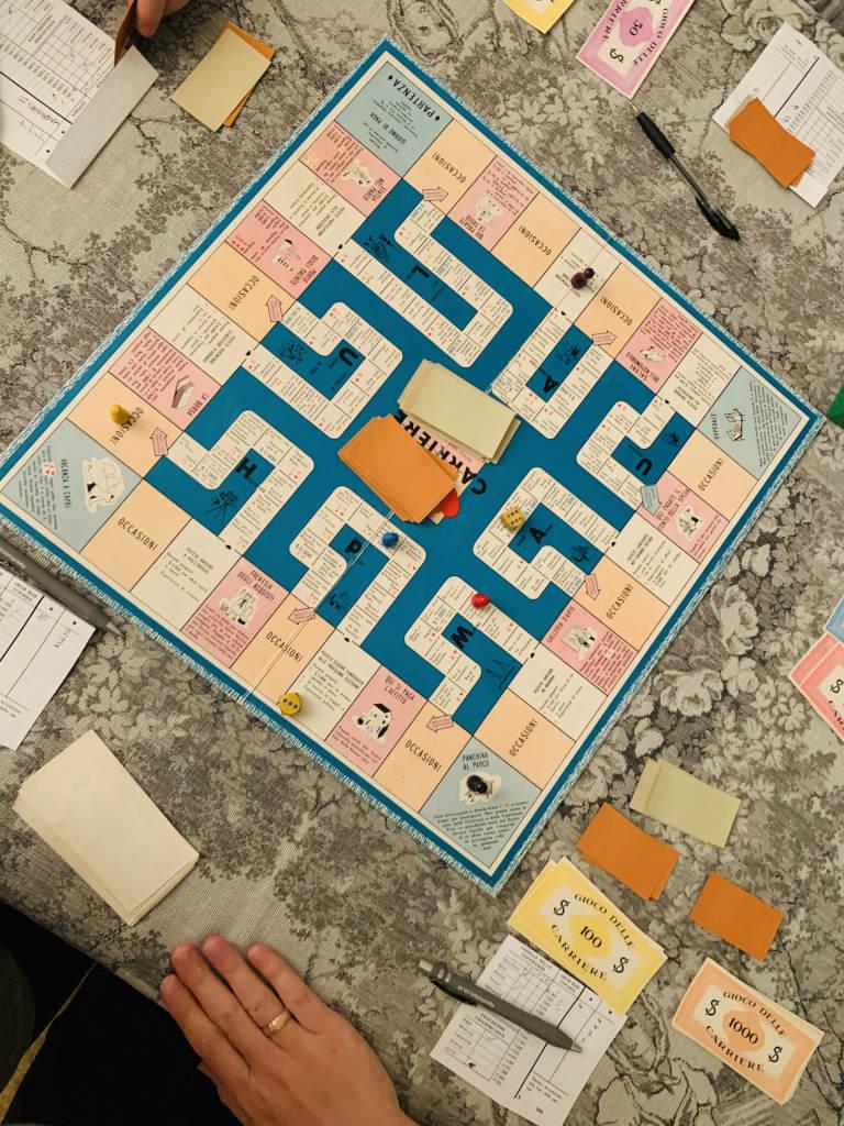 Italienisches Brettspiel