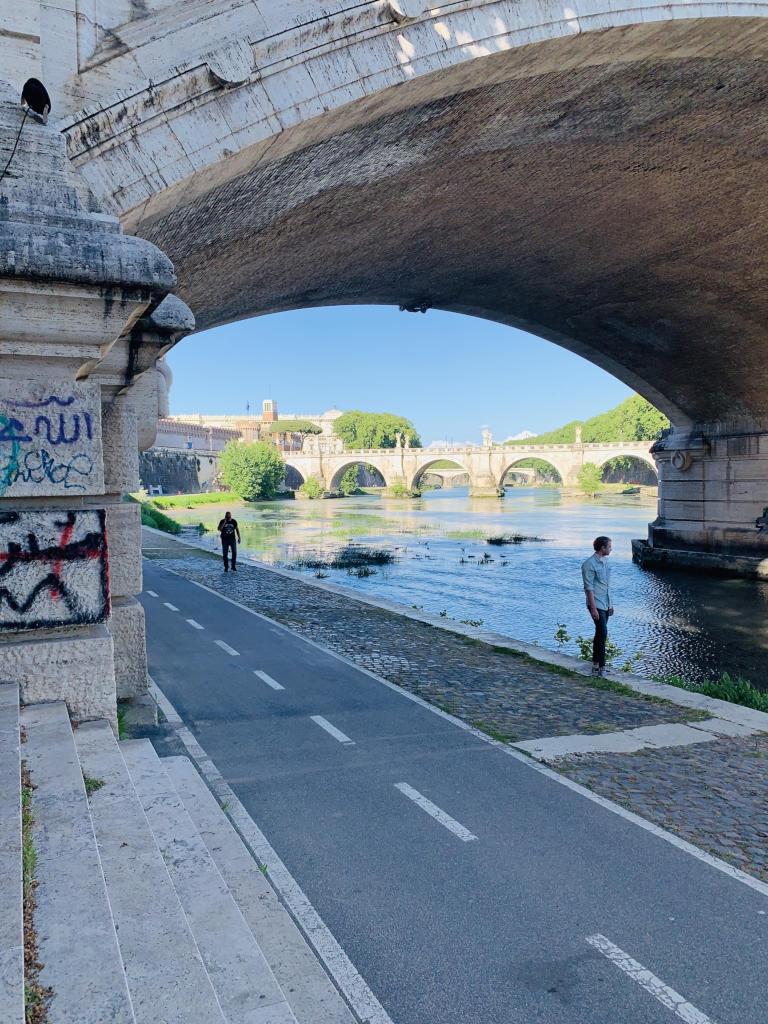 Brücke über den Tiber