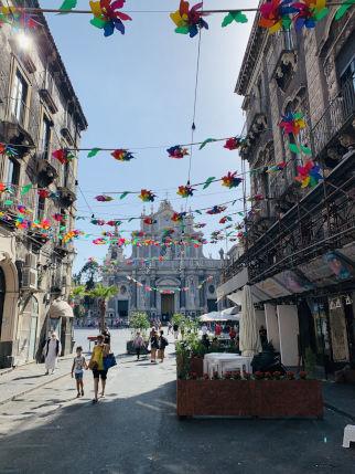 Zentrum von Catania
