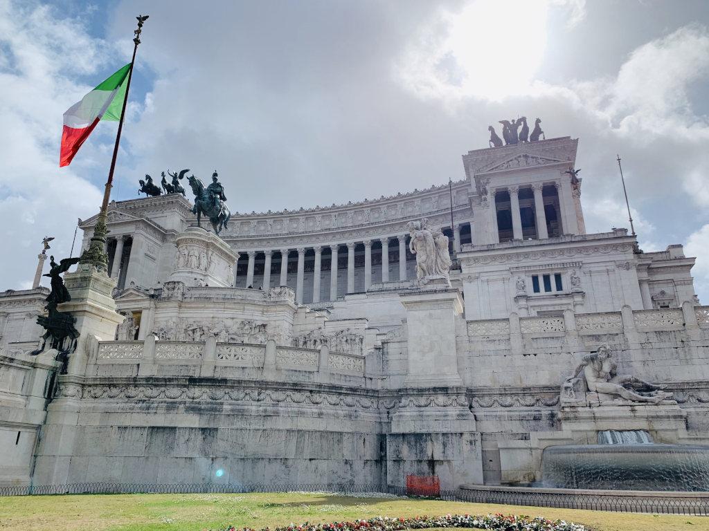 Denkmal Vittorio Emanuele in Rom