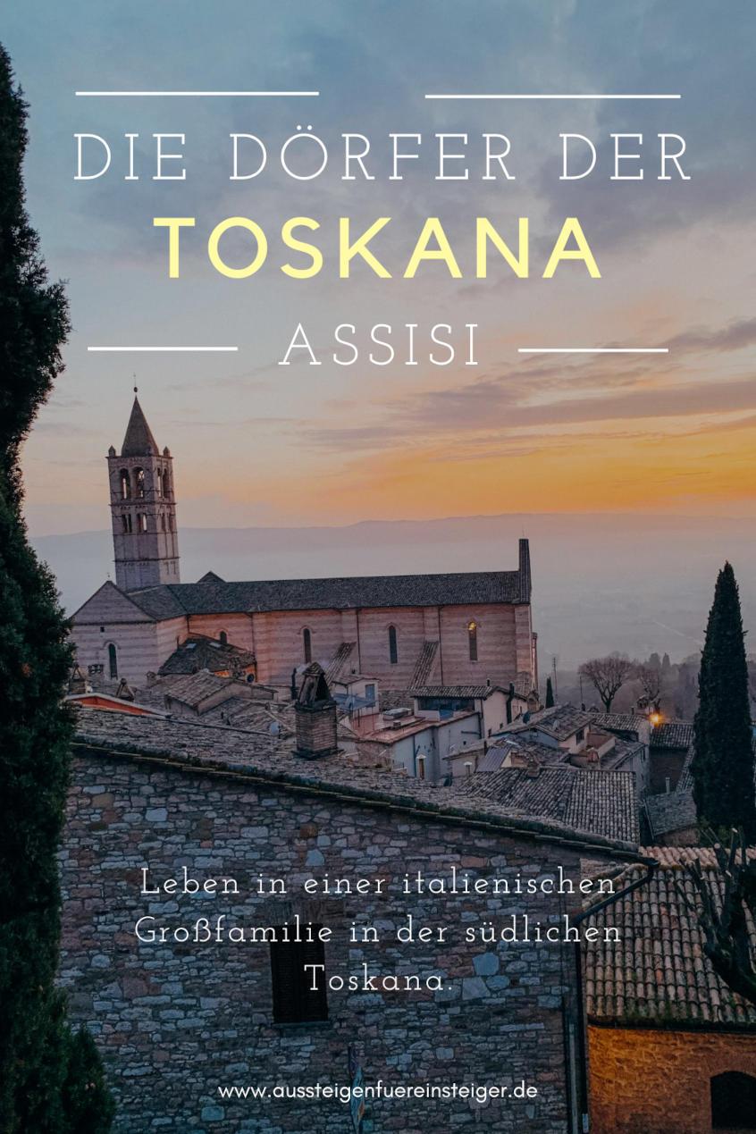 Die Dörfer der Toskana - Assisi