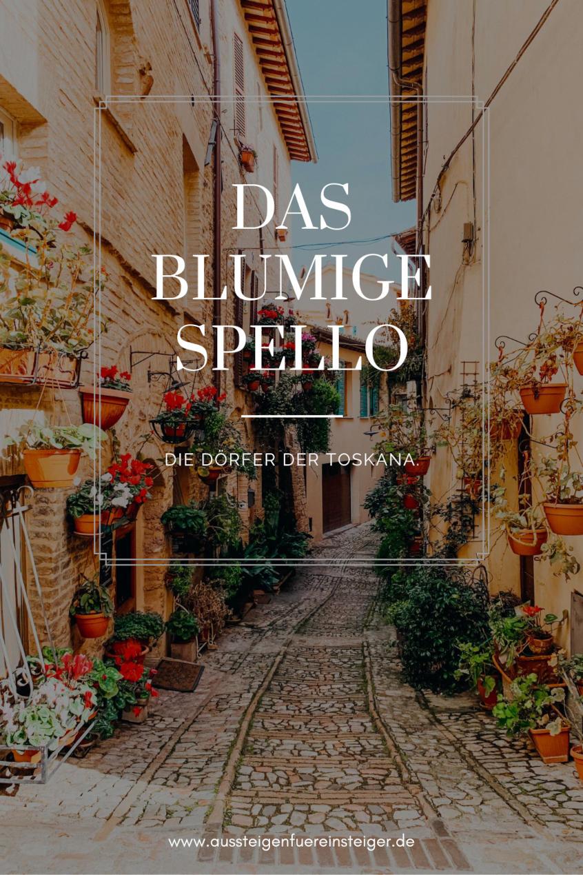 Die Dörfer der Toskana - Spello