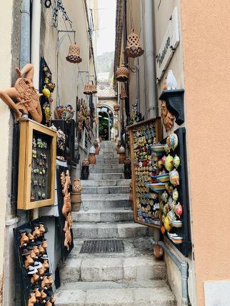 Gasse Taormina