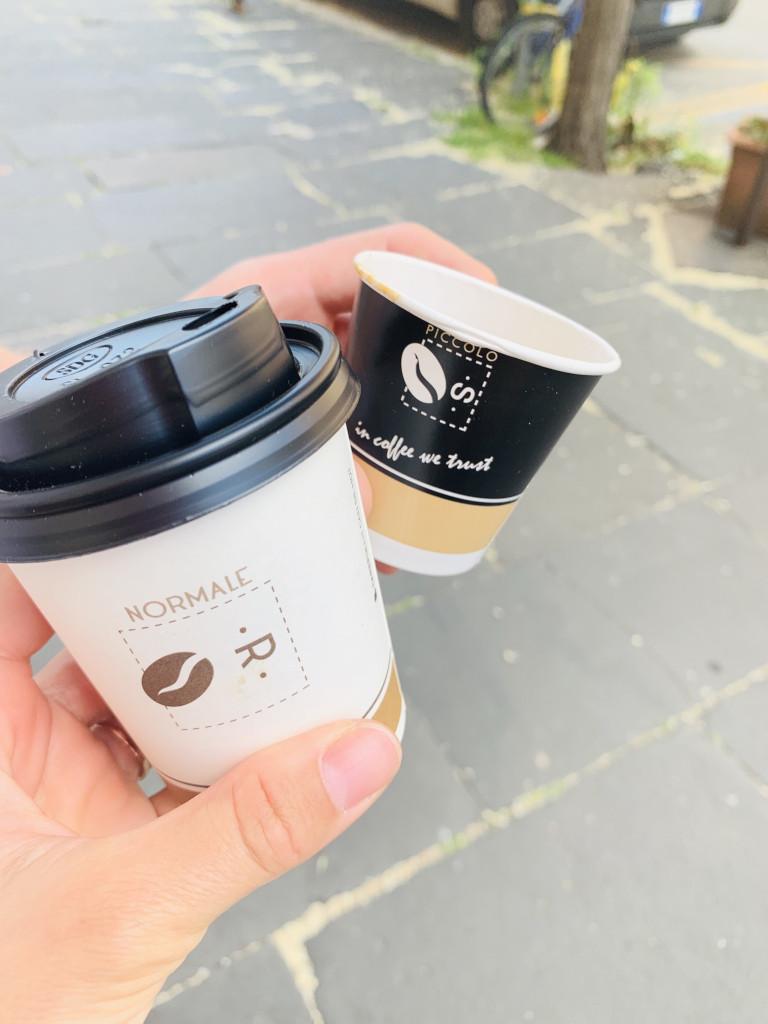 Espresso und Capuccino