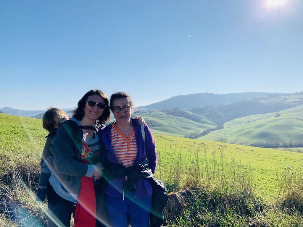 Spaziergang in der Toskana