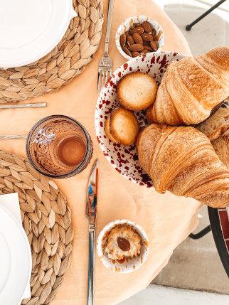 Frühstück im Hotel in Apulien