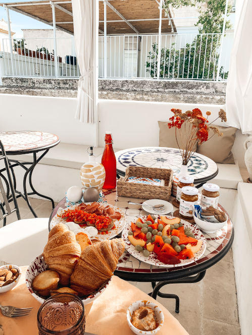 Frühstück im Palais Gentile