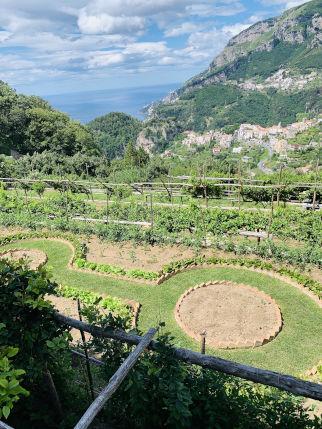 Garten einer Villa in Ravello