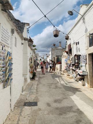 Gasse in Alberobello