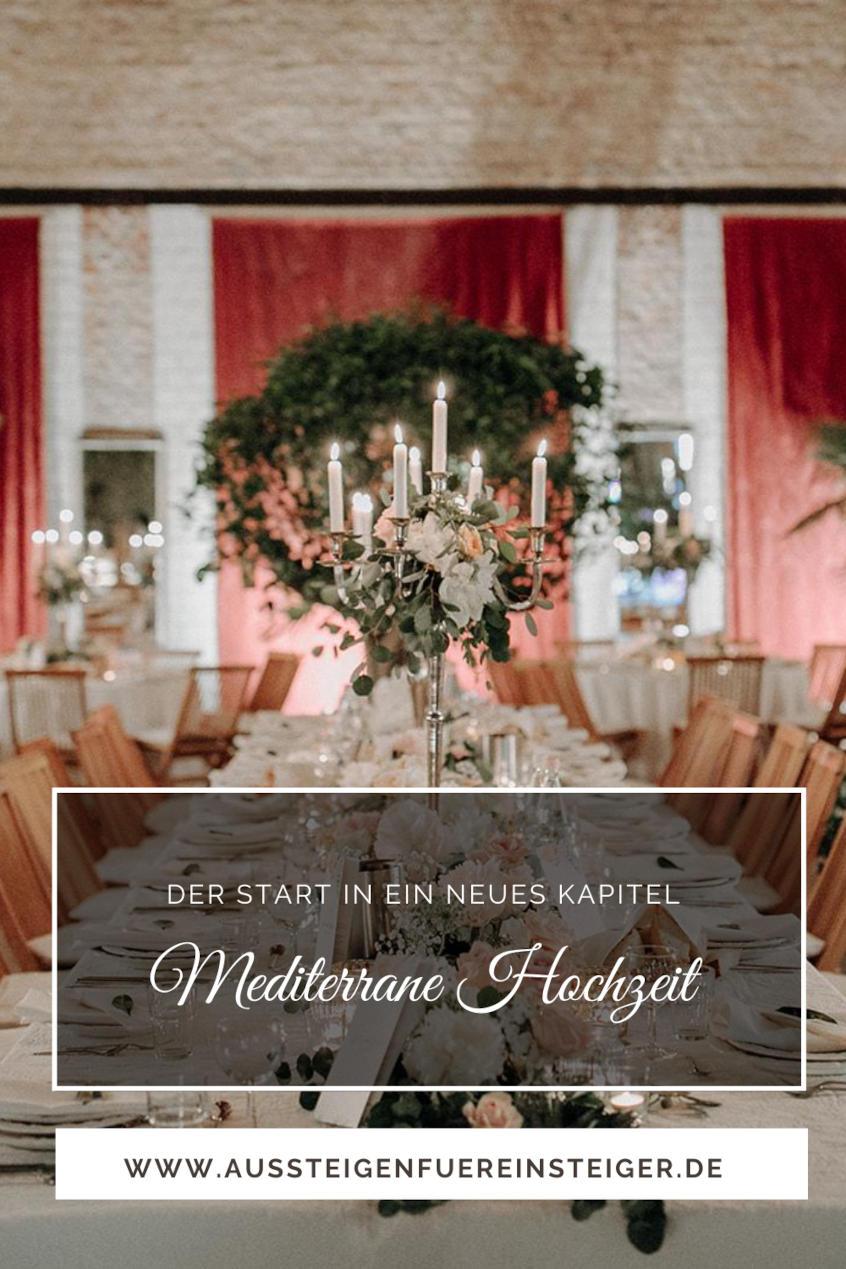 Mediterrane Hochzeit
