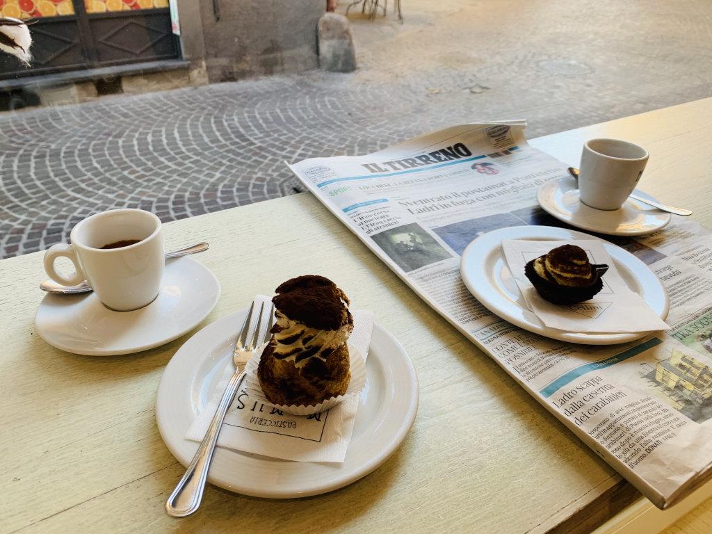 Espresso und Dolce