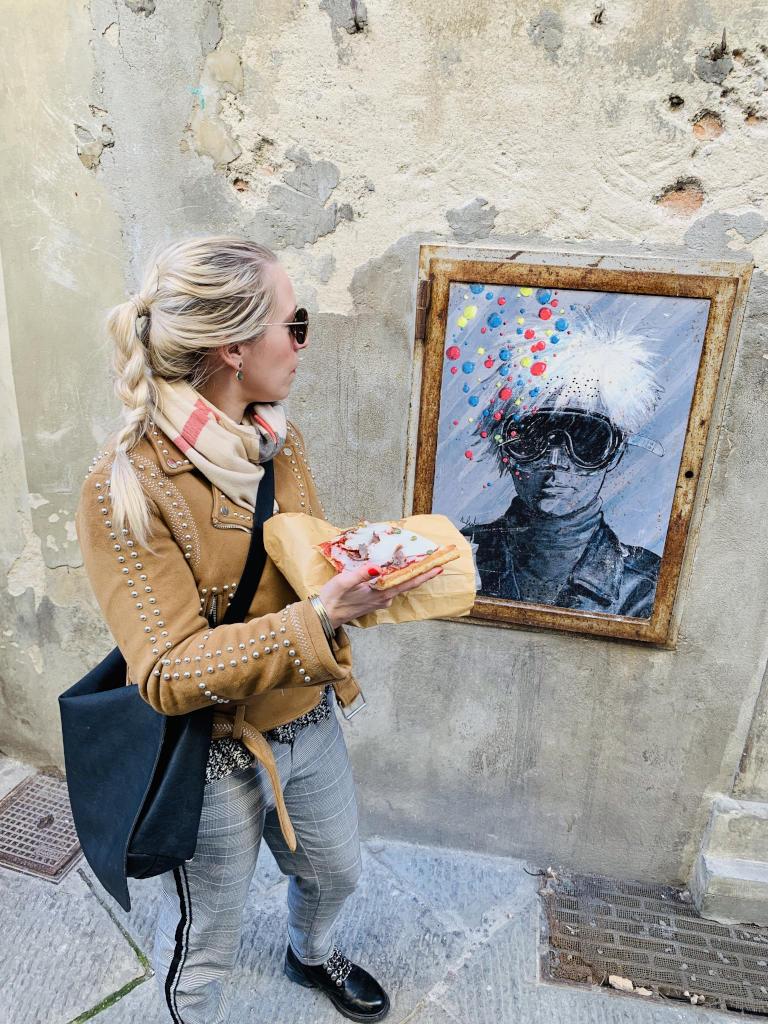 Pizza und Street Art in Pistoia