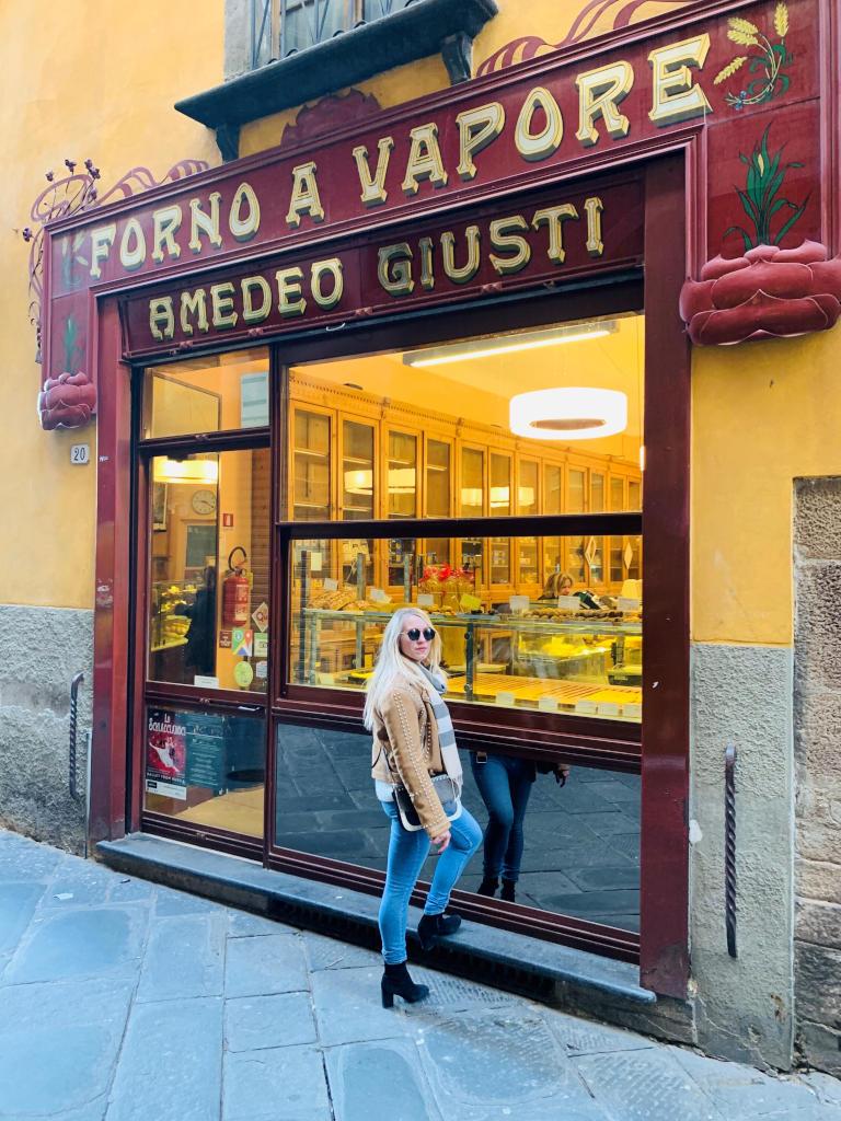 Eine der besten Bäckereien in Lucca