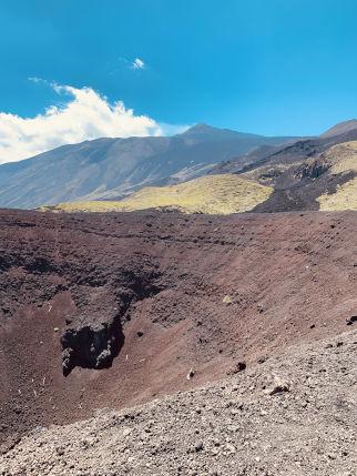 Krater Etna
