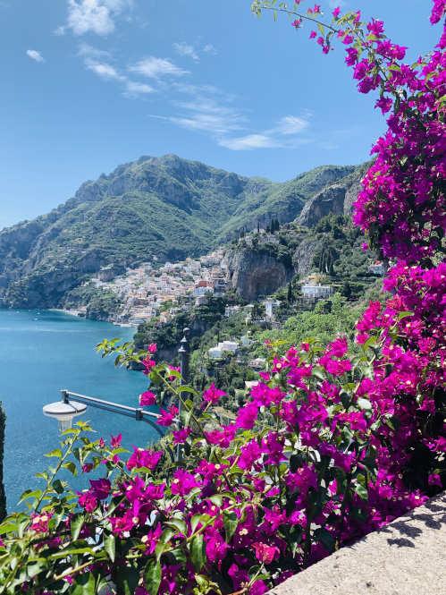 Steilküste Amalfi in Kampanien