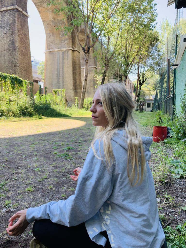 Meditation im Garten