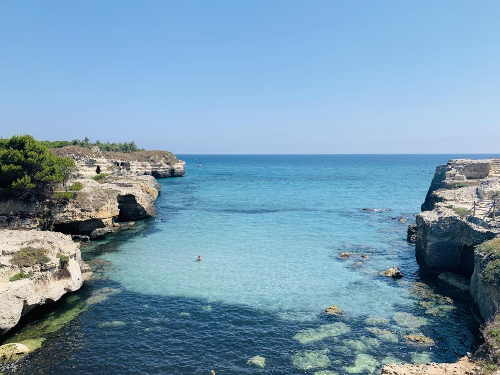 Meer in Apulien