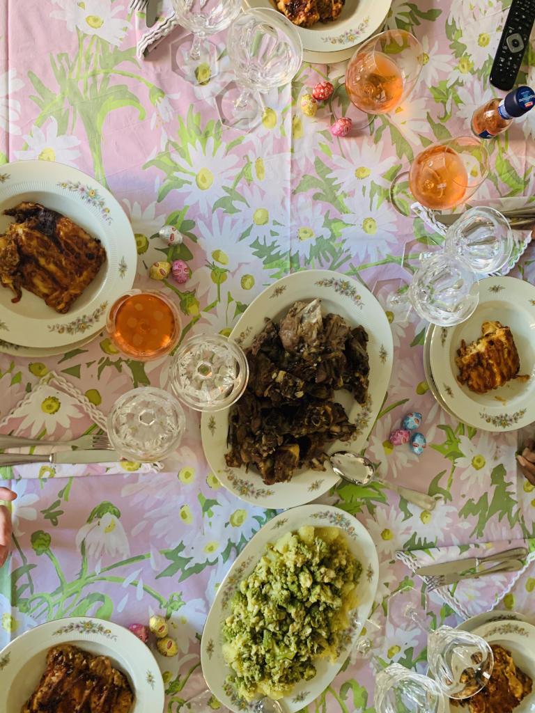 Essen zu Ostern in Italien