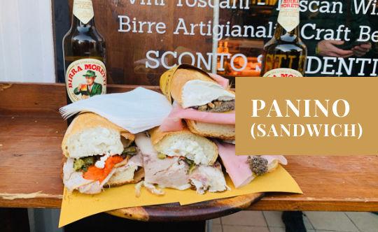 Panino - ein italienisches Sandwich