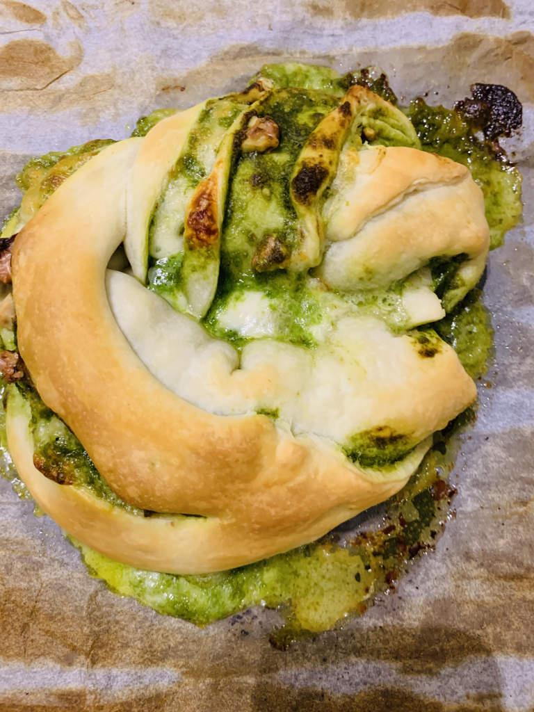 Pesto Zopf
