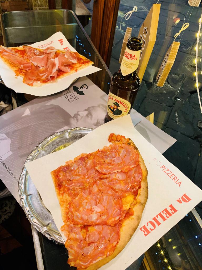 Pizza der Pizzeria Da Felice