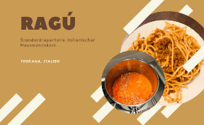 Pasta mit Ragú