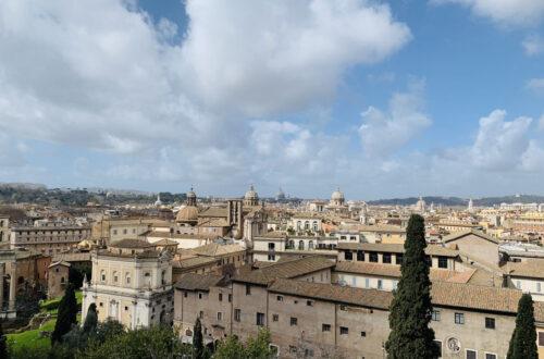 Rom aus der Sicht des Forum Romano