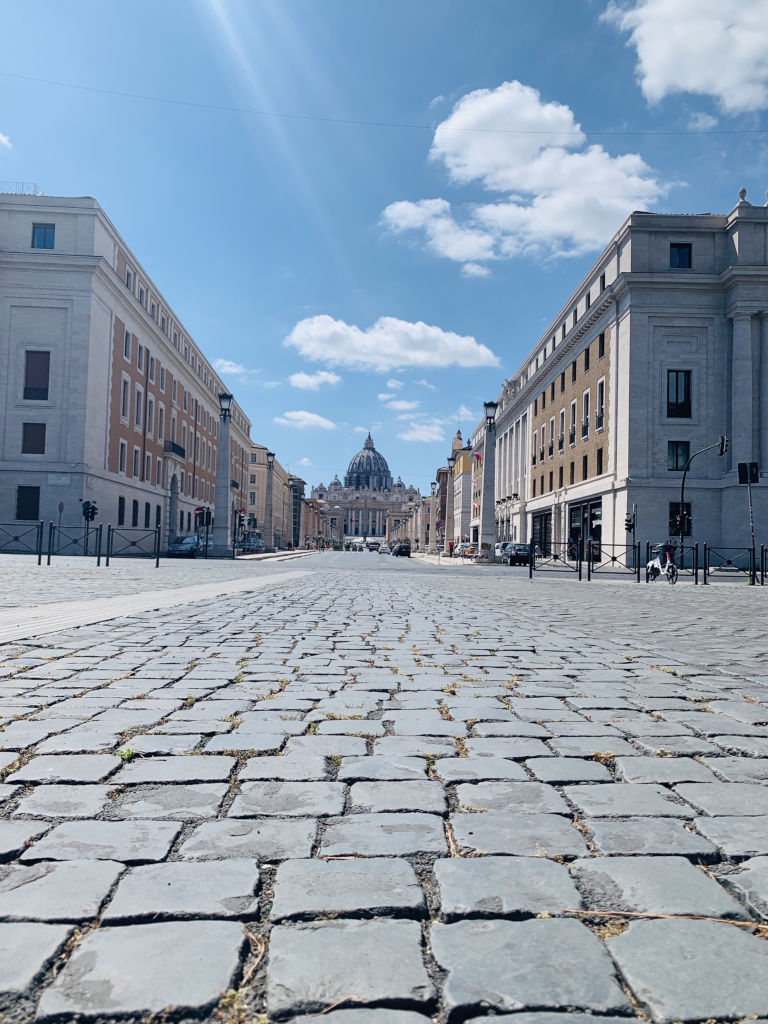 Weg zum Petersplatz