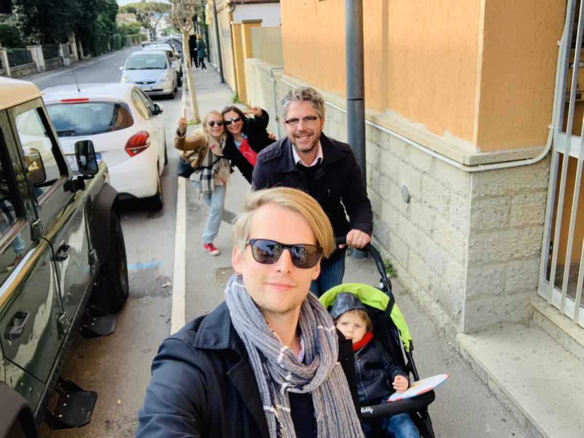 Sonntagsausflug mit der Familie