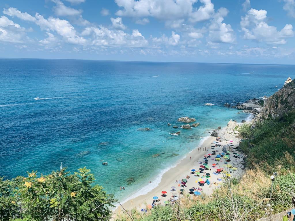 Spiaggia Michelino von oben
