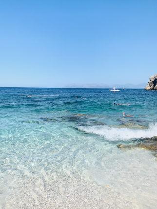 Spiaggia im Parco Zingaro