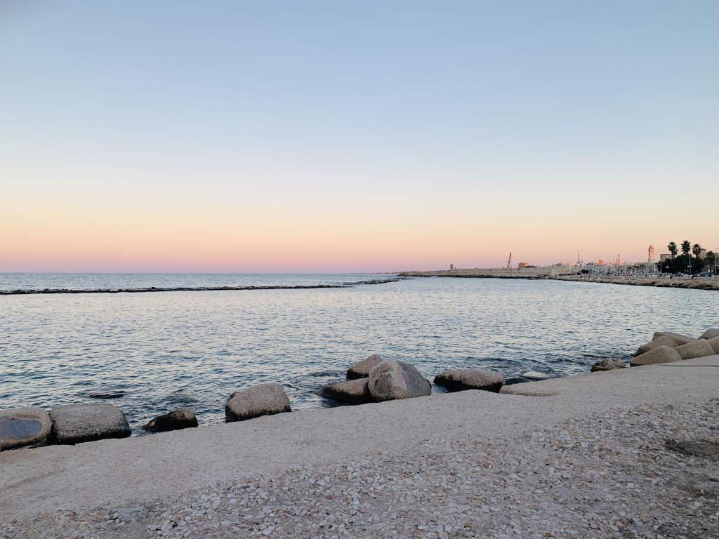 Strandpromenade in Bari