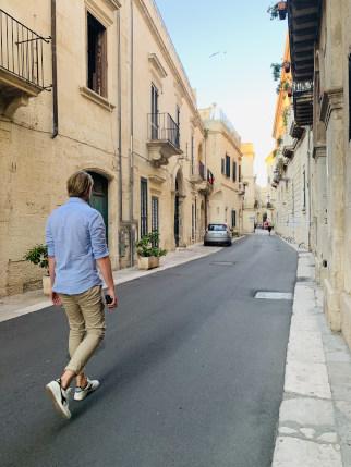 Straße in Lecce