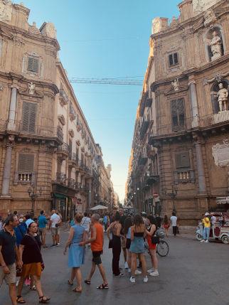 Die Straßen von Palermo