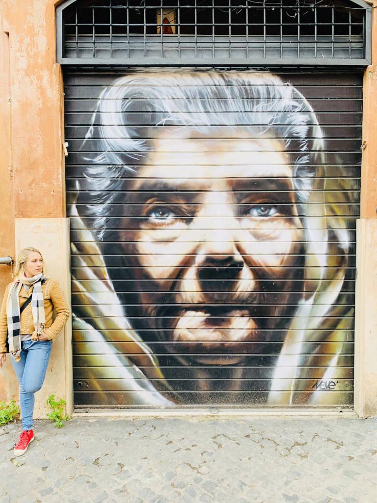 Street art in Trastevere