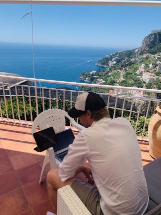 Terrasse Villa in Amalfi