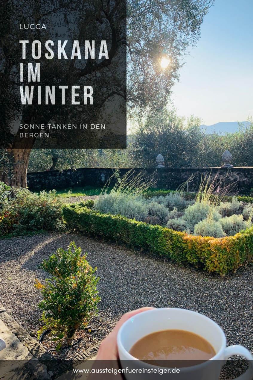Die Toskana im Winter