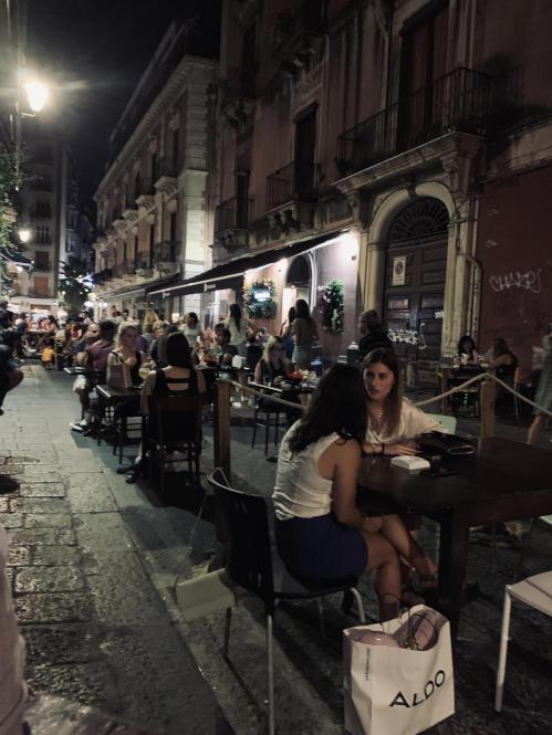 Die Via Gemmellaro in Catania