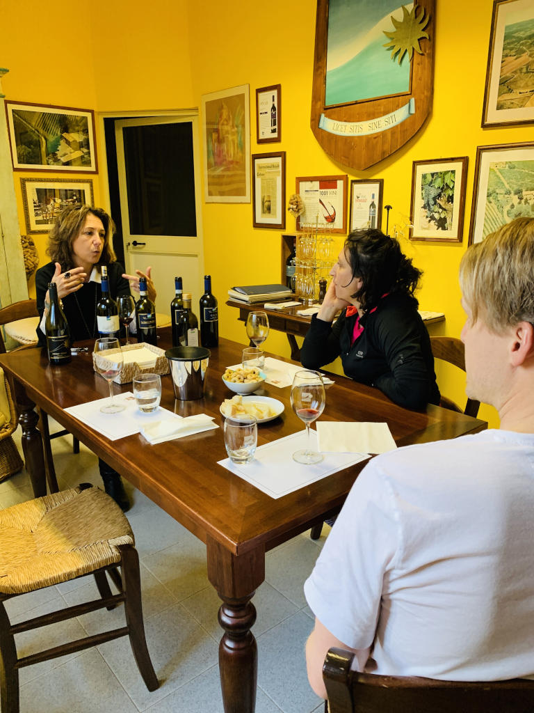 Weinprobe Weingut Valdipiatta