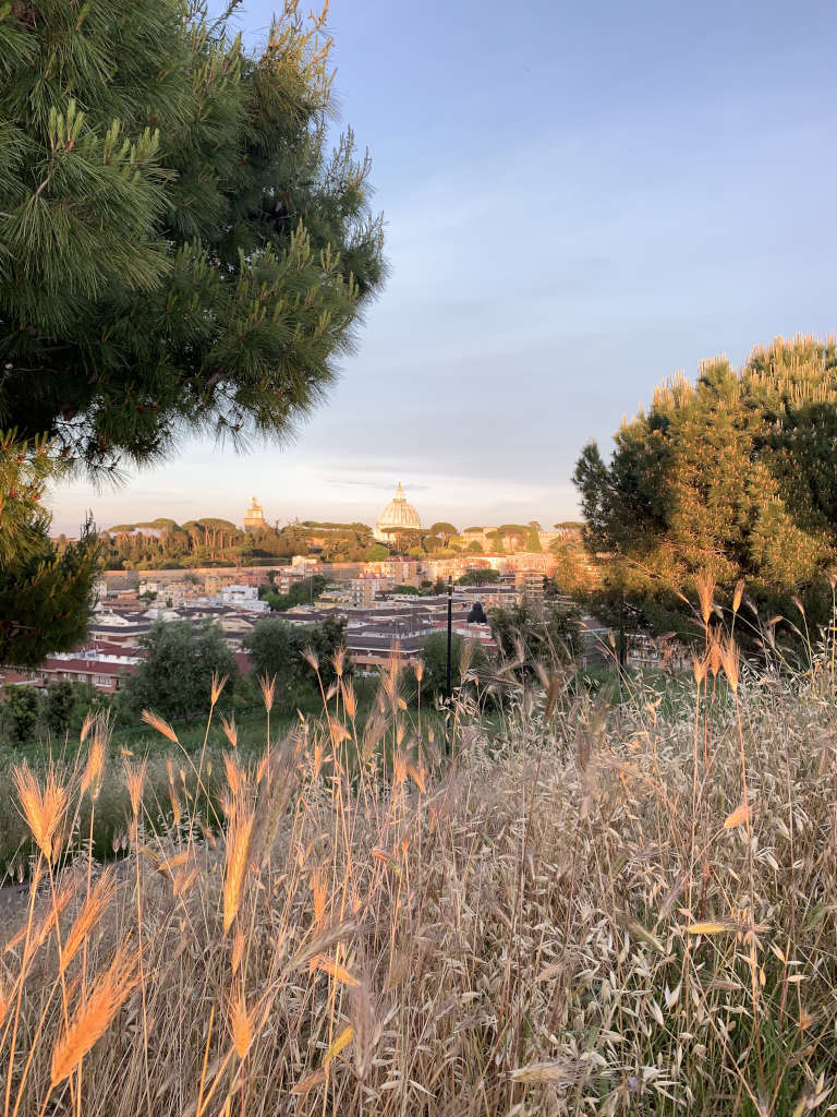 Blick vom Parco Monte Ciocci