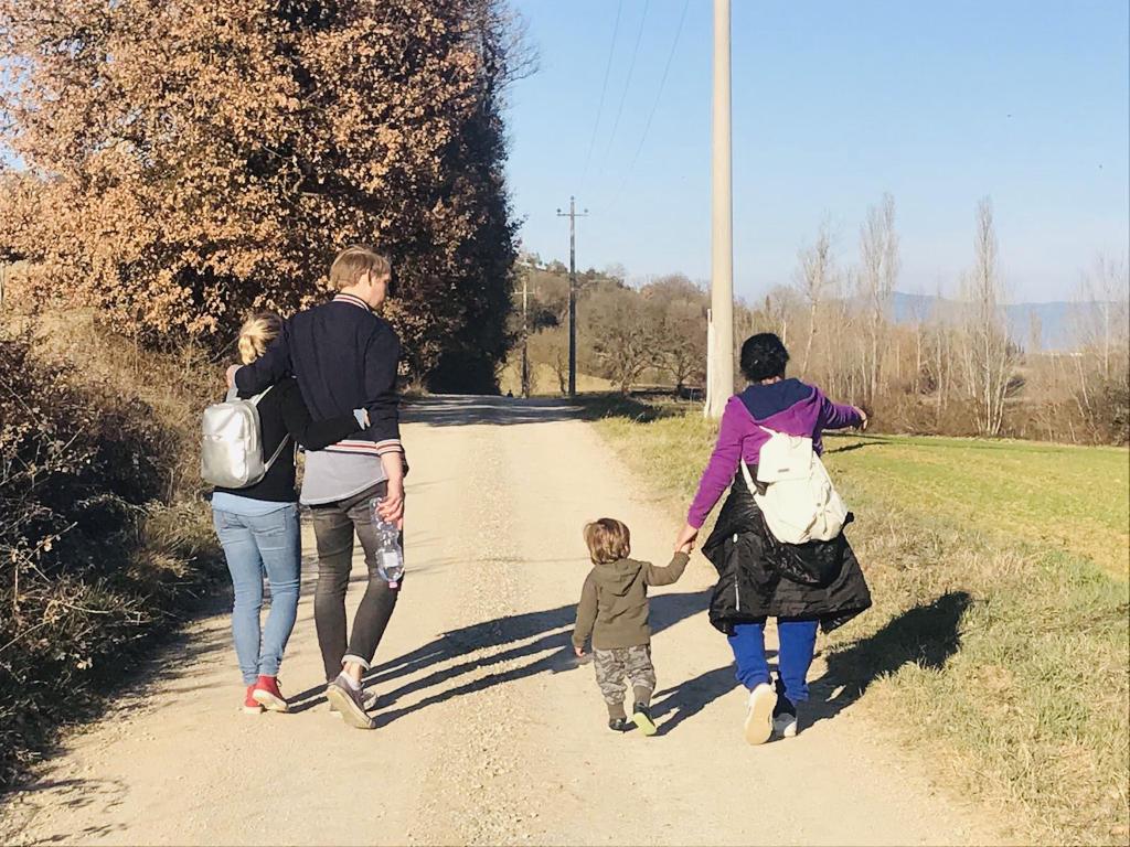 Spaziergang am Wochenende