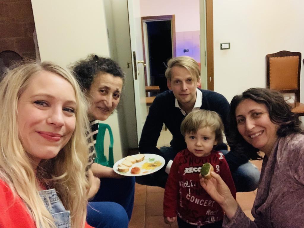 Bild von Workaway mit Gastfamilie