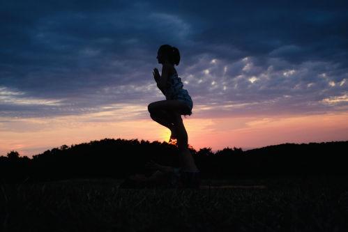 Yoga Figur