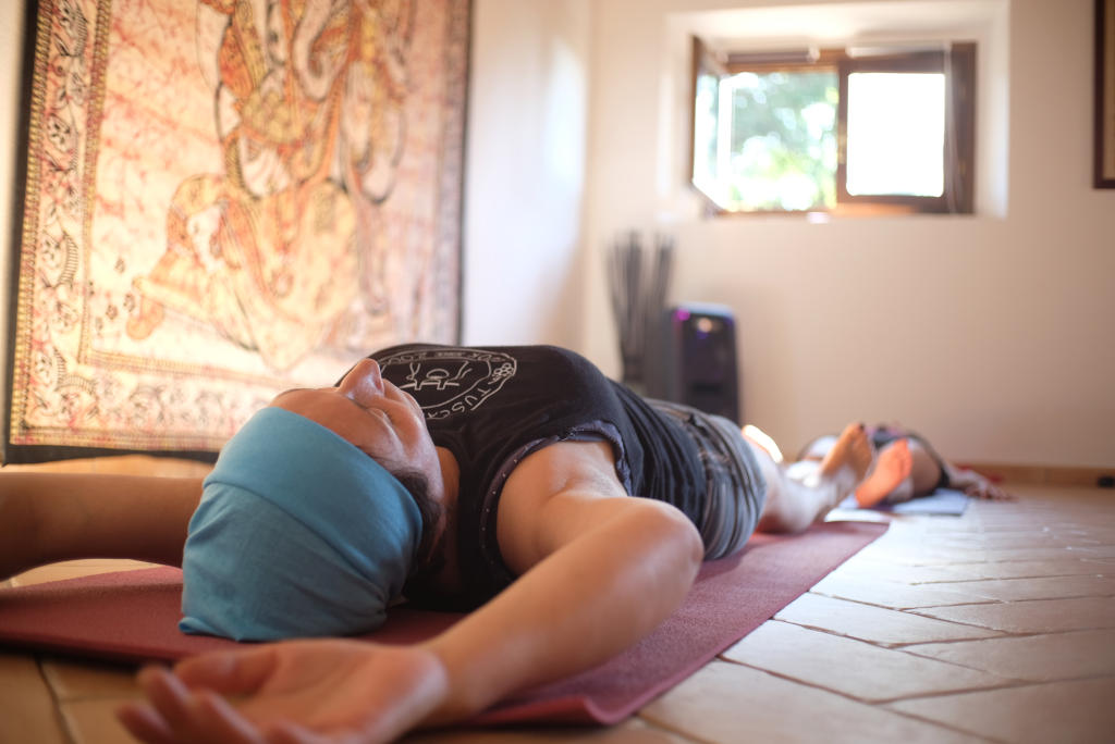 Yoga Raum des IPoderi